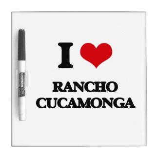 Amo Rancho Cucamonga Pizarras Blancas