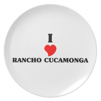 Amo Rancho Cucamonga Platos Para Fiestas