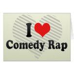 Amo rap de la comedia felicitaciones