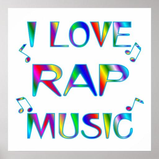 Amo rap póster