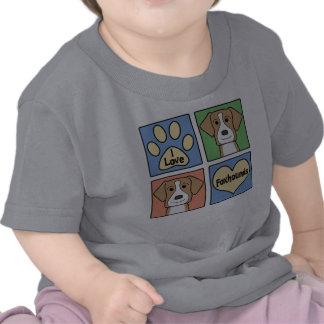 Amo raposeros americanos camiseta