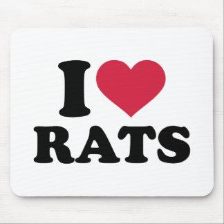 Amo ratas alfombrillas de raton
