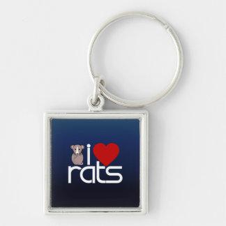Amo ratas llaveros