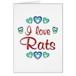 Amo ratas tarjetón