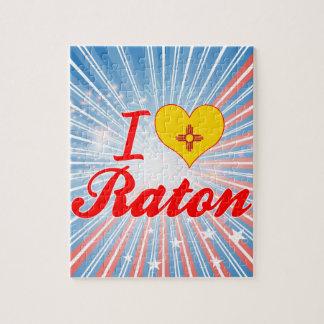 Amo Raton, New México Rompecabezas Con Fotos