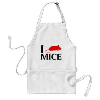 Amo ratones delantal