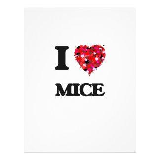 """Amo ratones folleto 8.5"""" x 11"""""""