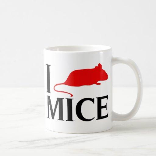 Amo ratones tazas