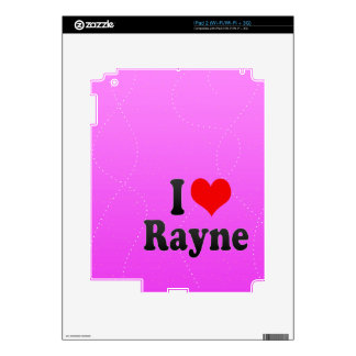 Amo Rayne iPad 2 Skin
