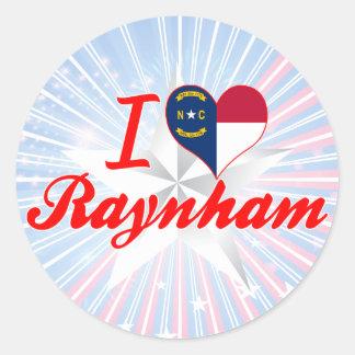 Amo Raynham Carolina del Norte Etiqueta