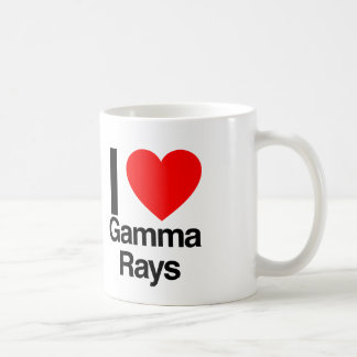 amo rayos gamma tazas de café