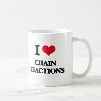 Amo reacciones en cadena tazas