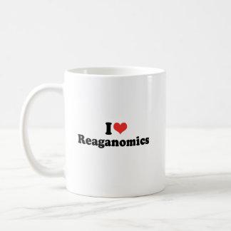 AMO REAGANOMICS - PNG TAZA DE CAFÉ