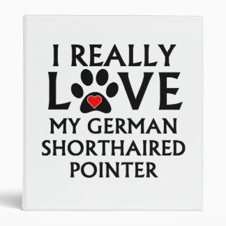 Amo realmente mi indicador de pelo corto alemán