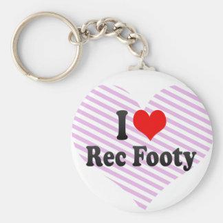 Amo Rec Footy Llavero