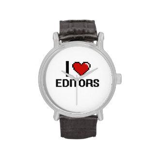 Amo redactores reloj