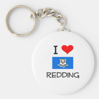 Amo Redding Connecticut Llavero Redondo Tipo Pin