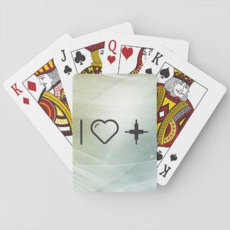 Amo redes fuertes barajas de cartas