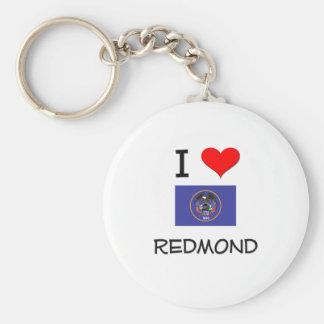 Amo Redmond Utah Llavero Redondo Tipo Pin