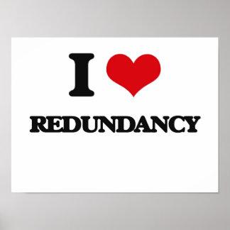 Amo redundancia poster