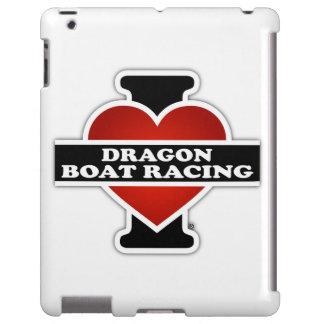 Amo regatas del dragón funda para iPad