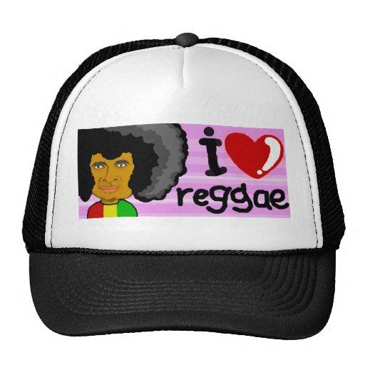 amo reggae gorro de camionero