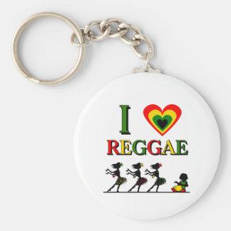 Amo reggae llavero personalizado