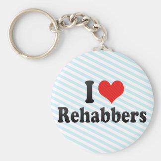 Amo Rehabbers Llaveros
