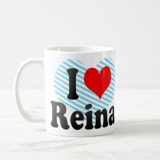 Amo Reina Taza De Café