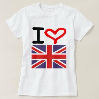 Amo Reino Unido Camisas
