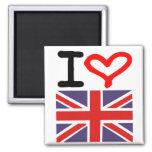 Amo Reino Unido Iman Para Frigorífico