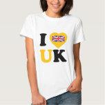 Amo Reino Unido Remera
