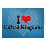 Amo Reino Unido Tarjeta