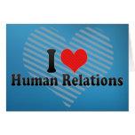 Amo relaciones humanas felicitaciones