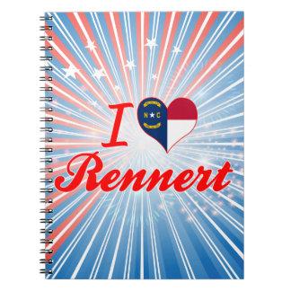 Amo Rennert Carolina del Norte Cuaderno