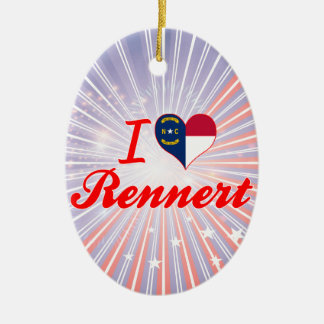 Amo Rennert Carolina del Norte Ornamento De Navidad