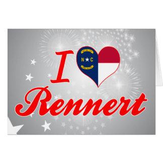Amo Rennert Carolina del Norte Felicitacion