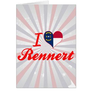 Amo Rennert Carolina del Norte Felicitación