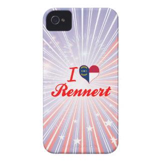 Amo Rennert Carolina del Norte iPhone 4 Case-Mate Cobertura
