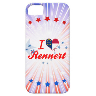 Amo Rennert Carolina del Norte iPhone 5 Case-Mate Cárcasa