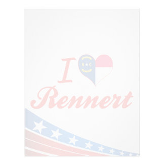 Amo Rennert Carolina del Norte Plantillas De Membrete