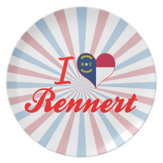 Amo Rennert Carolina del Norte Plato De Cena