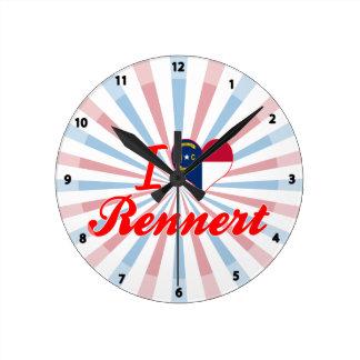 Amo Rennert Carolina del Norte Reloj De Pared