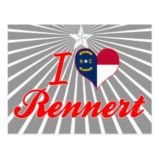 Amo Rennert Carolina del Norte Tarjetas Postales