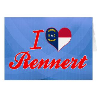 Amo Rennert Carolina del Norte Tarjetón