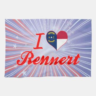 Amo Rennert Carolina del Norte Toallas De Cocina
