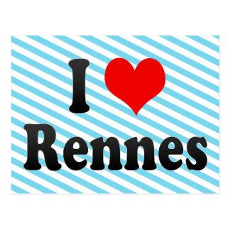 Amo Rennes, Francia Postales