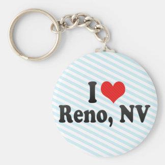 Amo Reno, nanovoltio Llaveros Personalizados