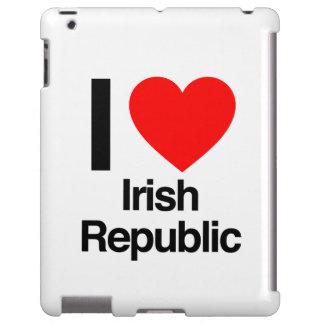 amo República de Irlanda Funda Para iPad