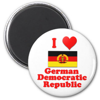 Amo República Democrática Alemana Imán Redondo 5 Cm